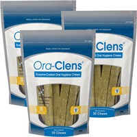Image of 3-PACK Ora-Clens Oral Hygiene Chews Small (90 Chews)