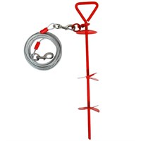 Image of Aspen Pet Stake XLarge with 20 Feet Tieout
