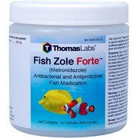 Image of Fish Zole Forte 500mg - Metronidazole Powder (12 packets)