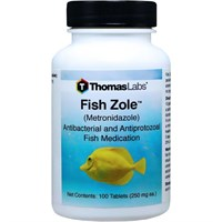 Image of Fish Zole (Metronidazole) 250mg (100 tablets)