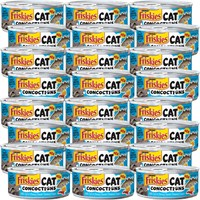 Image of Friskies Cat Concoctions - Cod in Cheesy Bacon Flavored Sauce Canned Cat Food (24x5.5 oz)