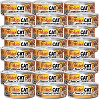 Image of Friskies Cat Concoctions - Lamb in Clam Flavored Sauce Canned Cat Food (24x5.5 oz)