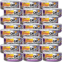 Image of Friskies Cat Concoctions - Scrumptious Salmon & Chicken Liver Dinner Canned Cat Food (24x5.5 oz)