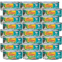Image of Friskies Indoor - Saucy Seafood Bake Canned Cat Food (24x5.5 oz)