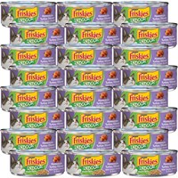 Image of Friskies Indoor - Meaty Bits Homestyle Turkey Dinner Canned Cat Food (24x5.5 oz)