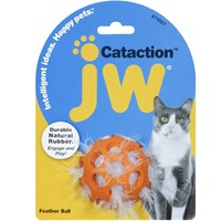 Image of JW Pet Cataction Feather Ball
