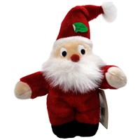 Image of Kyjen Plush Puppies Holiday Santa - Large