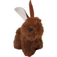 Image of OurPets Play-N-Squeak Backyard Friend Cat Toy - Bunny