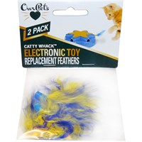 Image of OurPets Play-N-Squeak Catty Whack Replacement Feathers