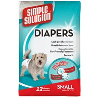 Image of Simple Solution Diapers S (12 Diapers)