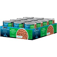 Image of Purina Pro Plan Focus - Weight Management Turkey & Rice Entrée Canned Adult Cat Food (24x3oz)