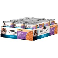 Image of Purina Pro Plan Focus - Ocean Whitefish & Tuna Entrée Canned Kitten Food (24x3oz)
