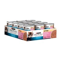 Image of Purina Pro Plan Focus - Salmon & Ocean Fish Entrée Canned Kitten Food (24x3oz)