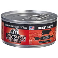 Image of Redbarn Pate Urinary Support Cat Food - Beef (5.5 oz)