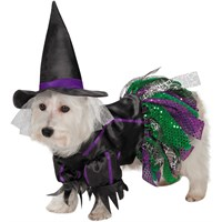 Image of Zack & Zoey Scary Witch Dog Costume - XSmall