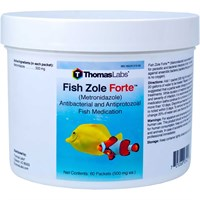 Image of Fish Zole Forte 500mg - Metronidazole Powder (60 packets)