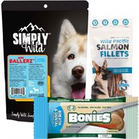 Image of Tasty Treats Gift Set For Dogs