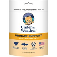 Image of Under the Weather Soft Chews for Cats - Urinary Support (60 count)