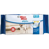 Image of Four Paws Wee-Wee Dog Diapers Small (12 diapers)