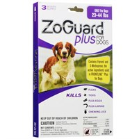 Image of ZoGuard Plus for Dogs 23-44 lbs (3 Pack)
