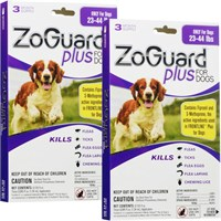 Image of ZoGuard Plus for Dogs 23-44 lbs (6 Pack)