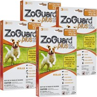 Image of ZoGuard Plus for Dogs 4-22 lbs (12 Pack)