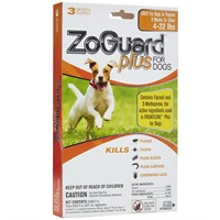 Image of ZoGuard Plus for Dogs 4-22 lbs (3 Pack)