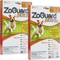 Image of ZoGuard Plus for Dogs 4-22 lbs (6 Pack)