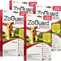 Image of ZoGuard Plus for Dogs 45-88 lbs (12 Pack)