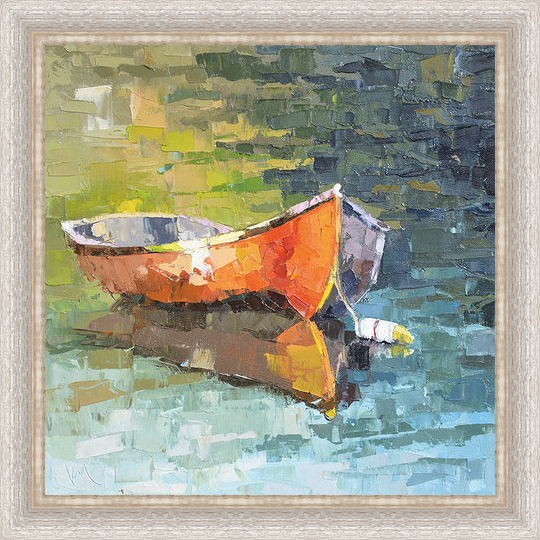 Boat XII Framed Canvas