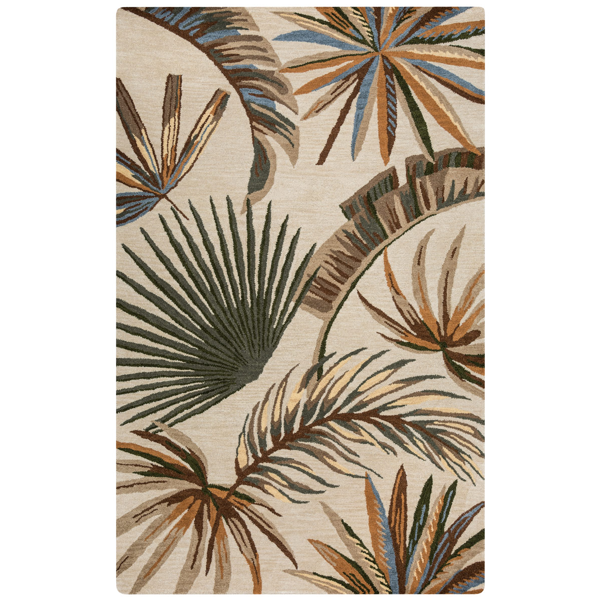 Cabot Bay Fronds Rug - 2 x 8