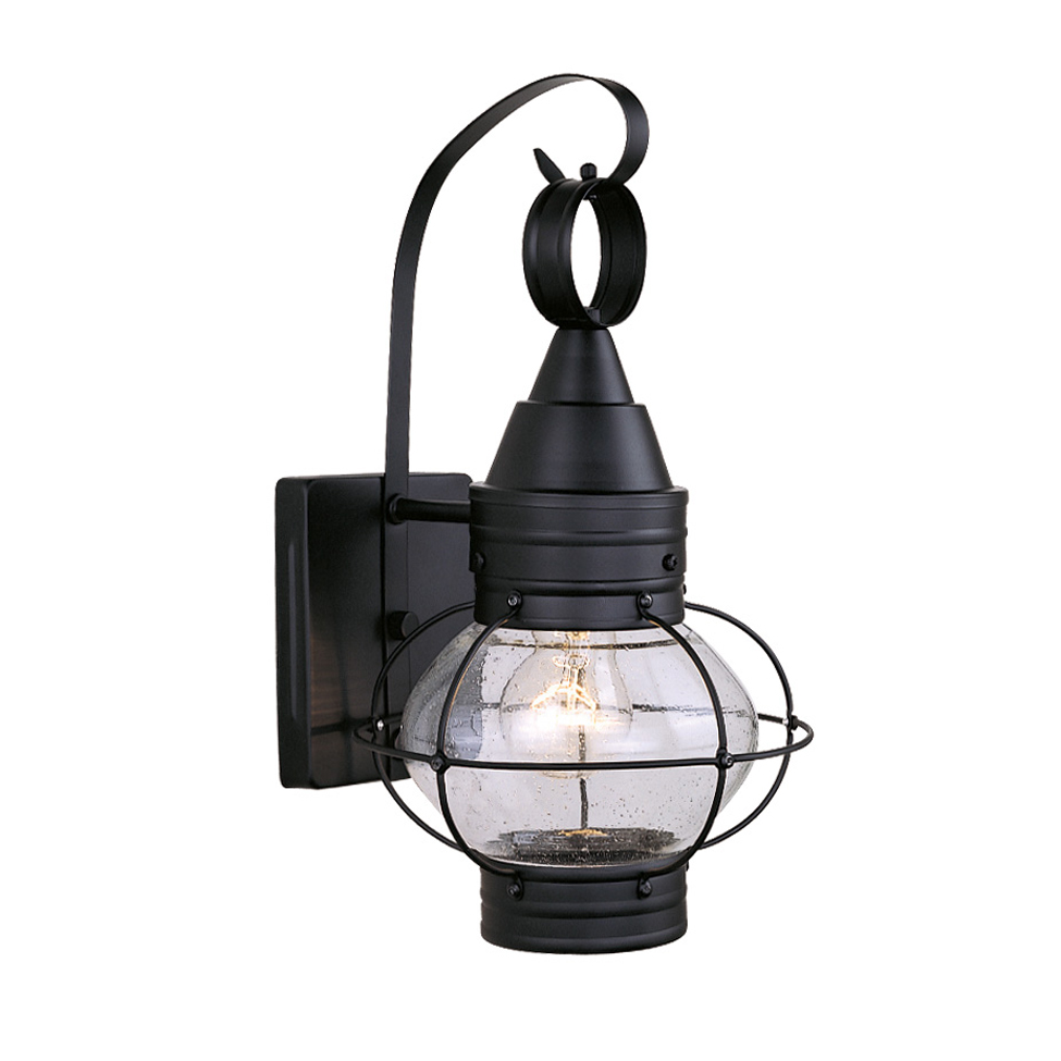 Vaxcel Lighting Chatham Black Outdoor Wall Sconce - 8 Inch