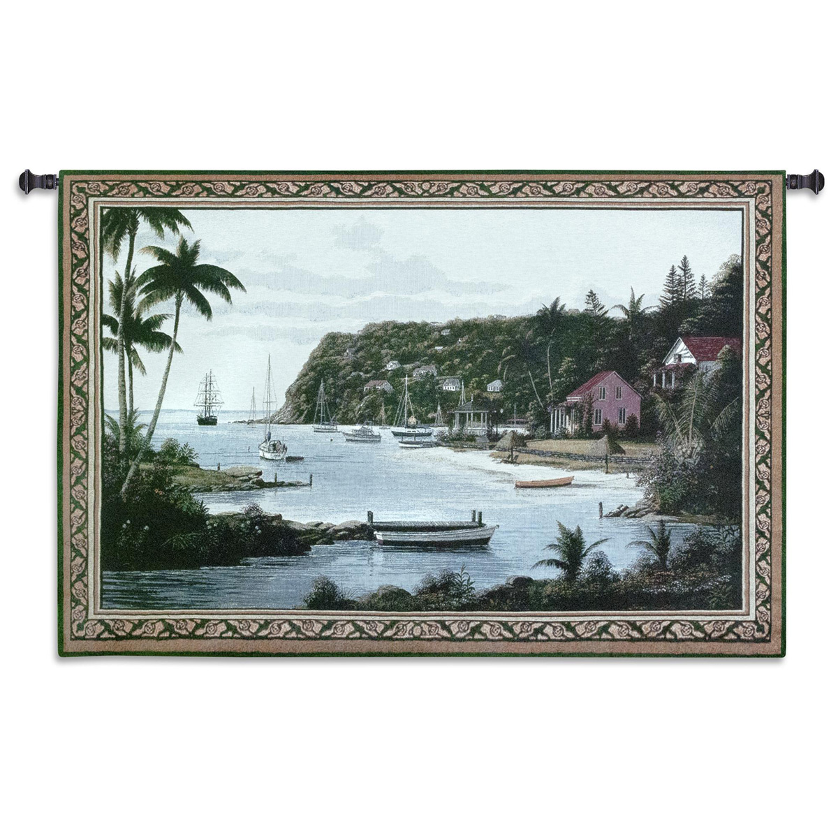 Island Paradise Wall Tapestry