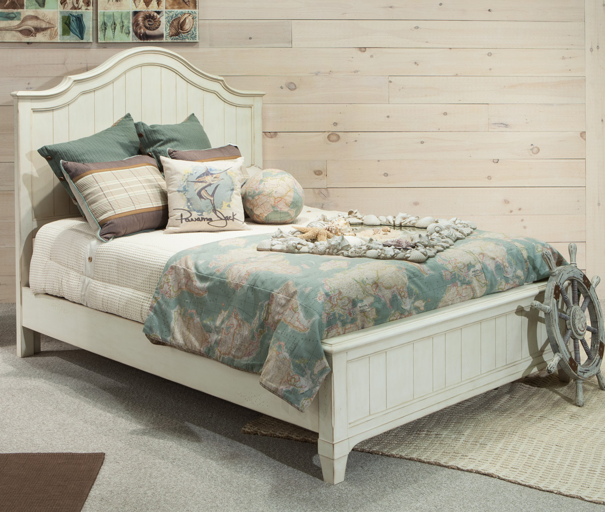 Millbrook Complete Panel Bed - King