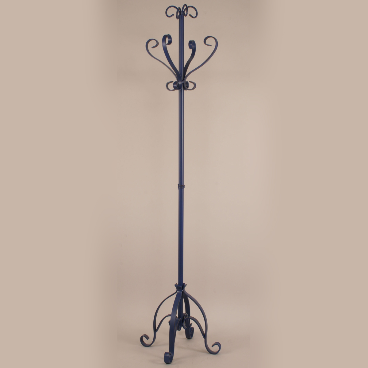 Morning Jewel Iron Pedestal Coat Rack
