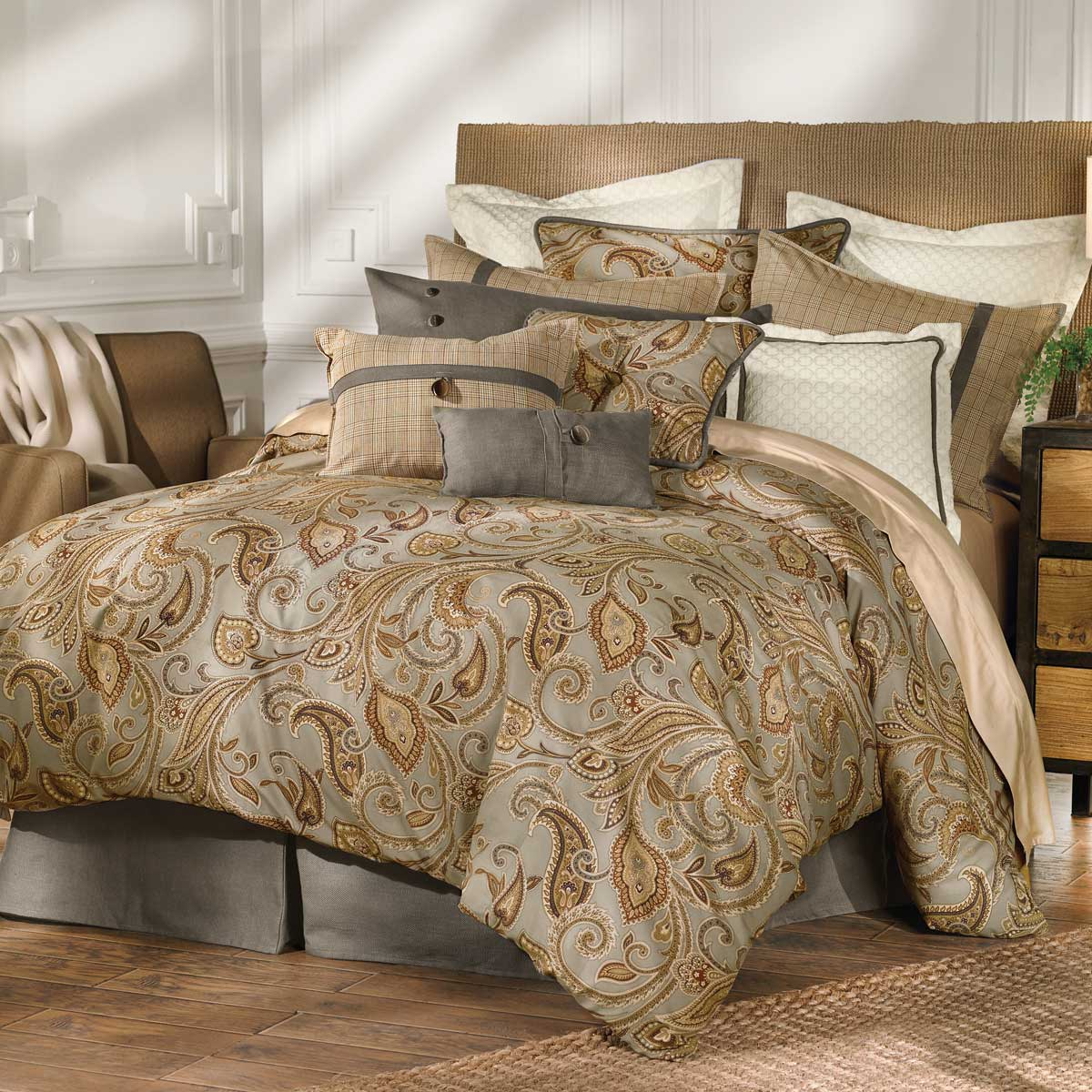 Piedmont Comforter Set - Super King