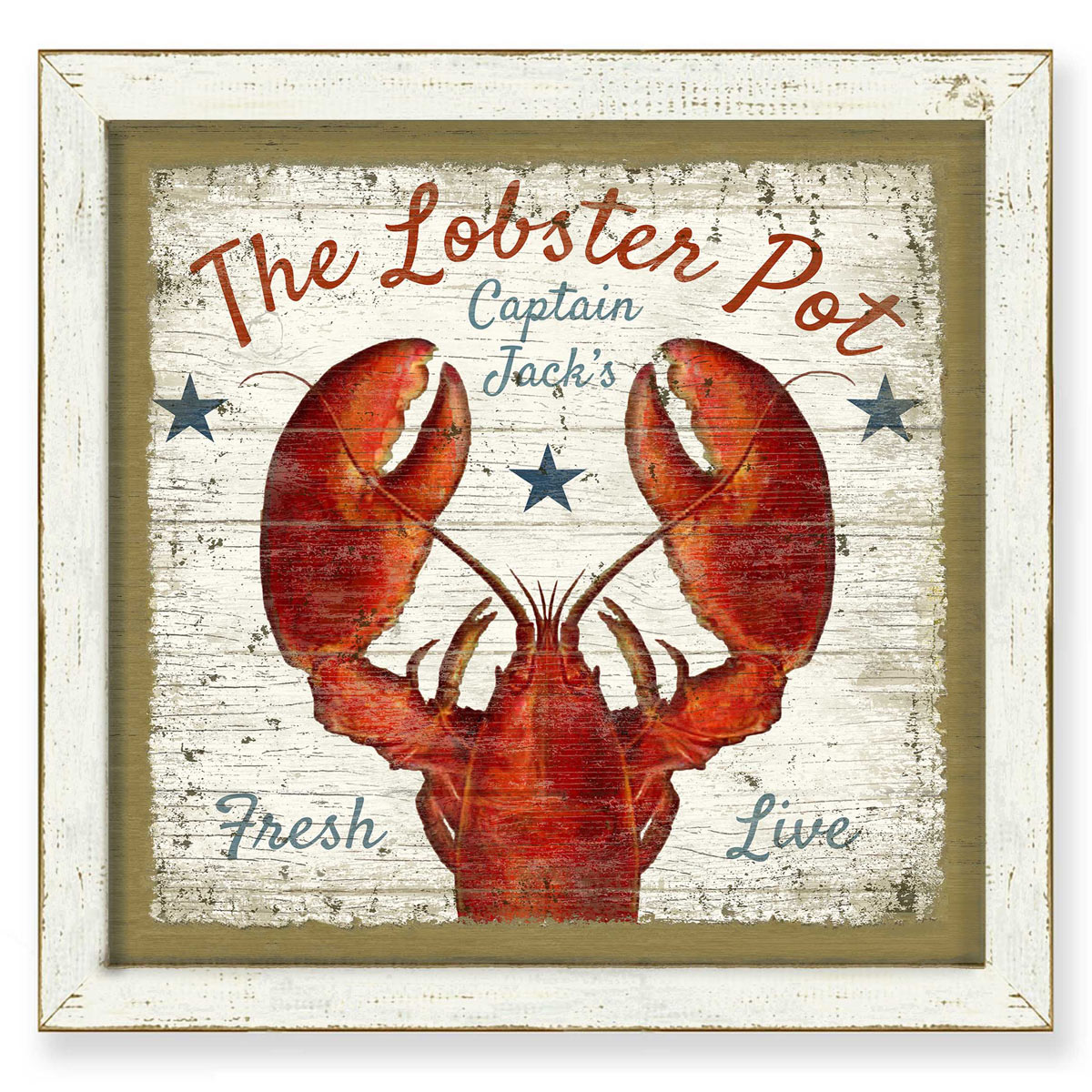 The Lobster Pot Framed Print