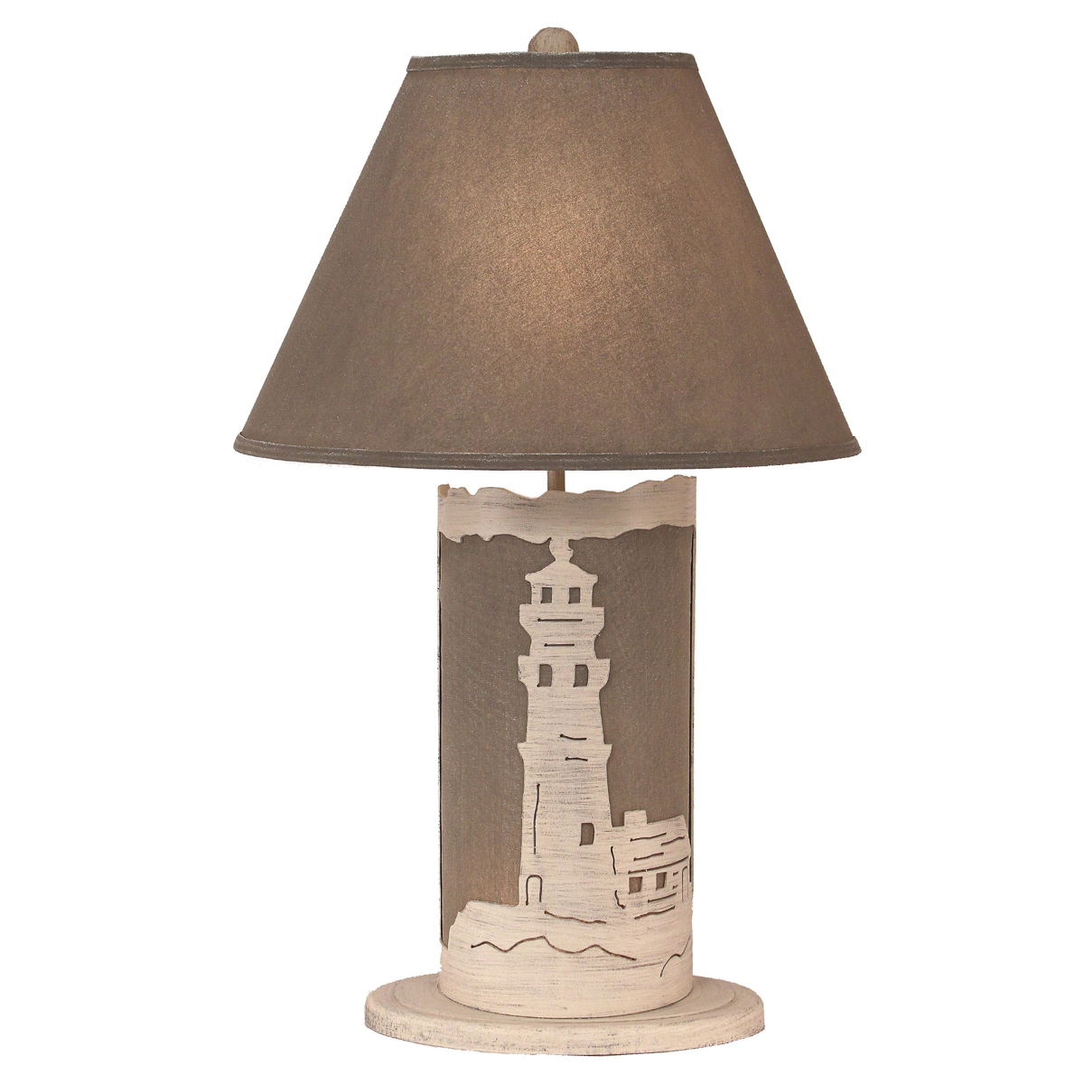 Lighthouse lamp shade lighting compare prices at nextag white lighthouse table lamp with nightlight aloadofball Images