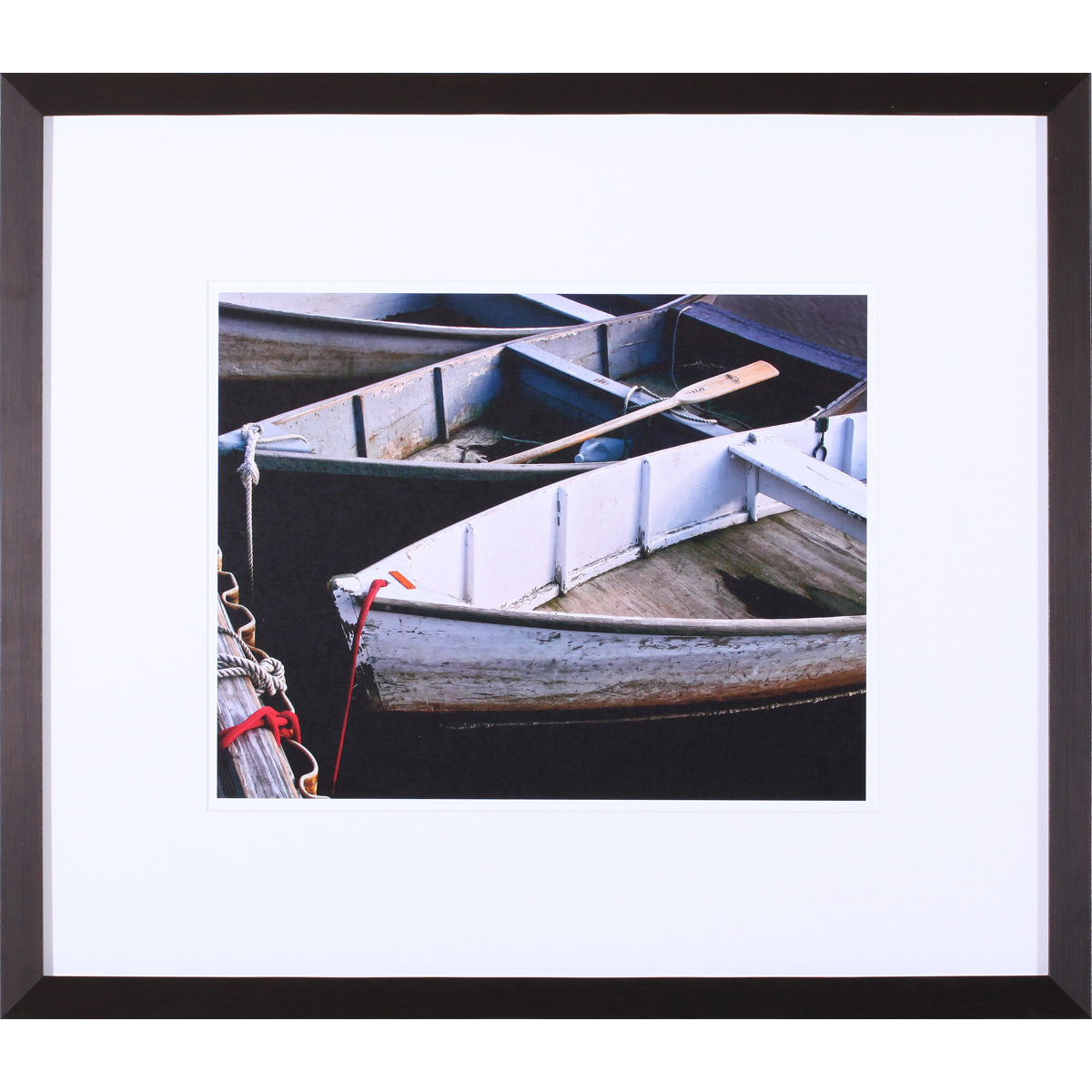 Wooden Rowboats V Framed Print